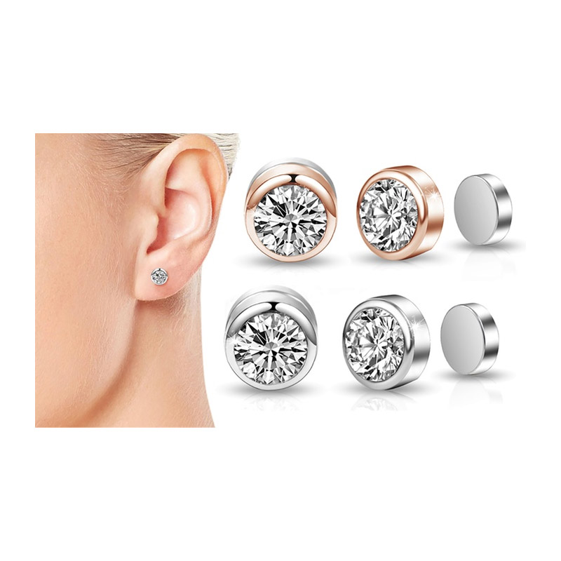 Σκουλαρίκια με Μαγνήτη Philip Jones με Κρύσταλλα Swarovski® 29f3ecd7a2a