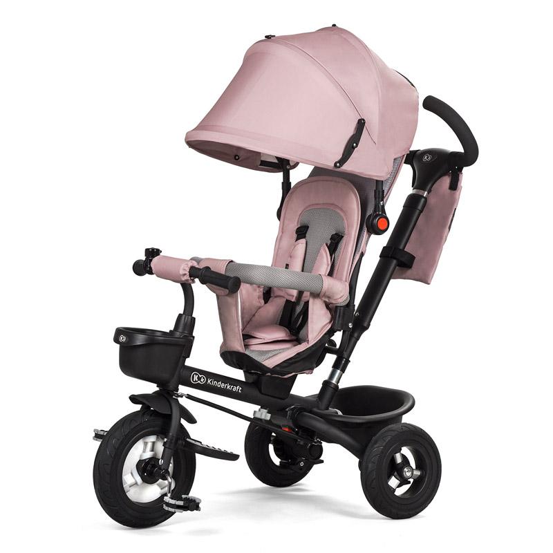 b97b70bf2cf Τρίκυκλο Παιδικό Ποδήλατο - Καρότσι KinderKraft Aveo Χρώματος Ροζ
