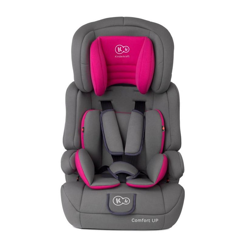 2f0d78ddf5 Παιδικό Κάθισμα Αυτοκινήτου Χρώματος Ροζ για Παιδιά 9-36 Kg KinderKraft  Comfort Up