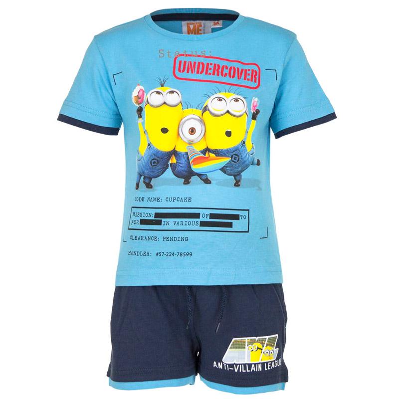 18f7931bedf Παιδικό Σετ Μπλούζα - Σορτς Χρώματος Μπλε Minions Disney EP1028