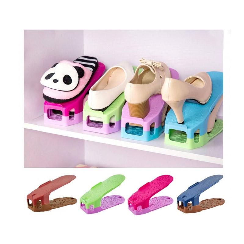 5f7060498e Σετ Θήκες Οργάνωσης Παπουτσιών για 4 Ζευγάρια MWS10613