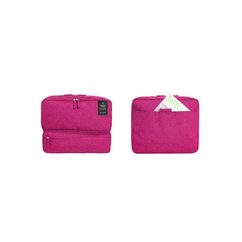 f1a3798e6e8 Τσάντα Ταξιδίου με Πολλές Θήκες Χρώματος Ροζ SPM Carrybag-PINK