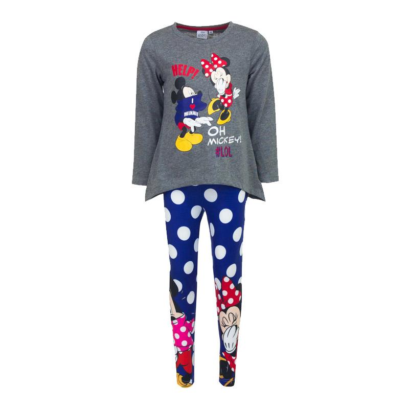 16dbabe7cce Παιδικό Σετ Μπλούζα - Κολάν Minnie και Mickey Disney DHQ1095