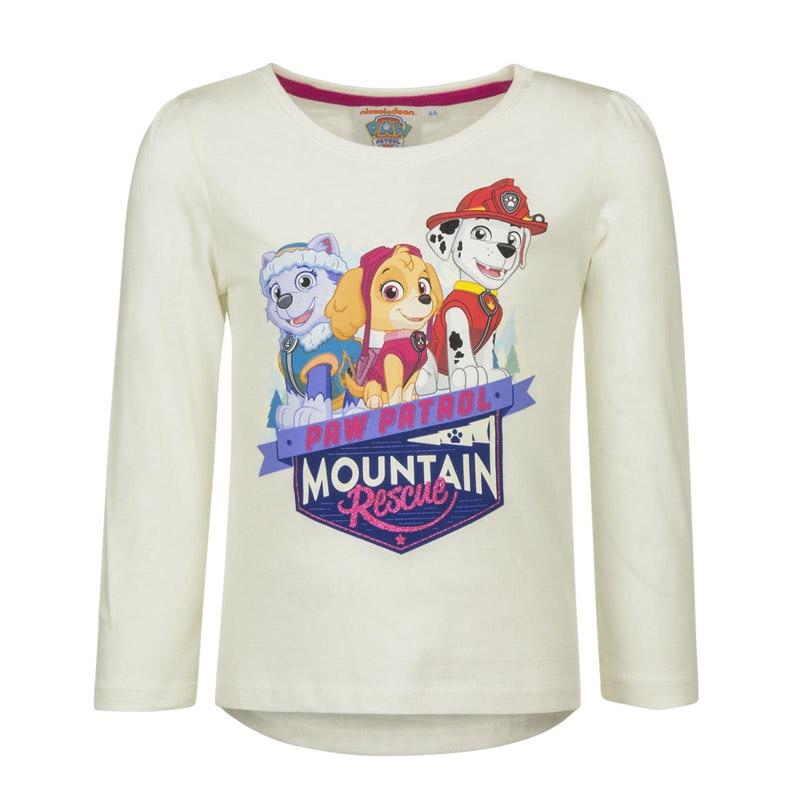 6b7d85670fbc Παιδική Μακρυμάνικη Μπλούζα Χρώματος Λευκό Paw Patrol Disney HQ1298