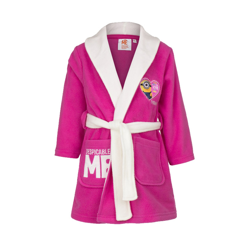 59b77c3387f Παιδική Ρόμπα Χρώματος Φούξια Minions Disney HO2261