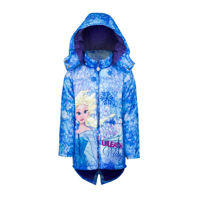 c04554ed542 Παιδικό Μπουφάν Χρώματος Μπλε Frozen Disney DHQ1010