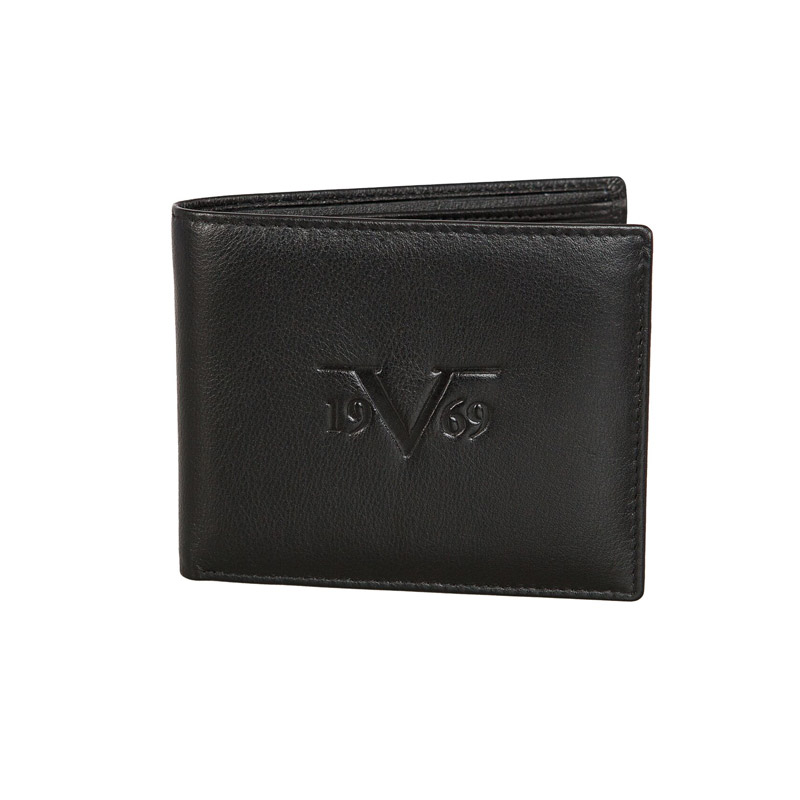 b112bf6826 Δερμάτινο Ανδρικό Πορτοφόλι Versace 1969 C186