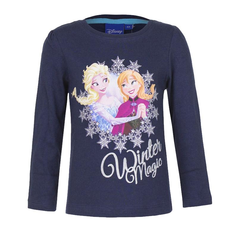 2caa45047e5 Παιδική Μακρυμάνικη Μπλούζα Χρώματος Navy Frozen Disney HO1382