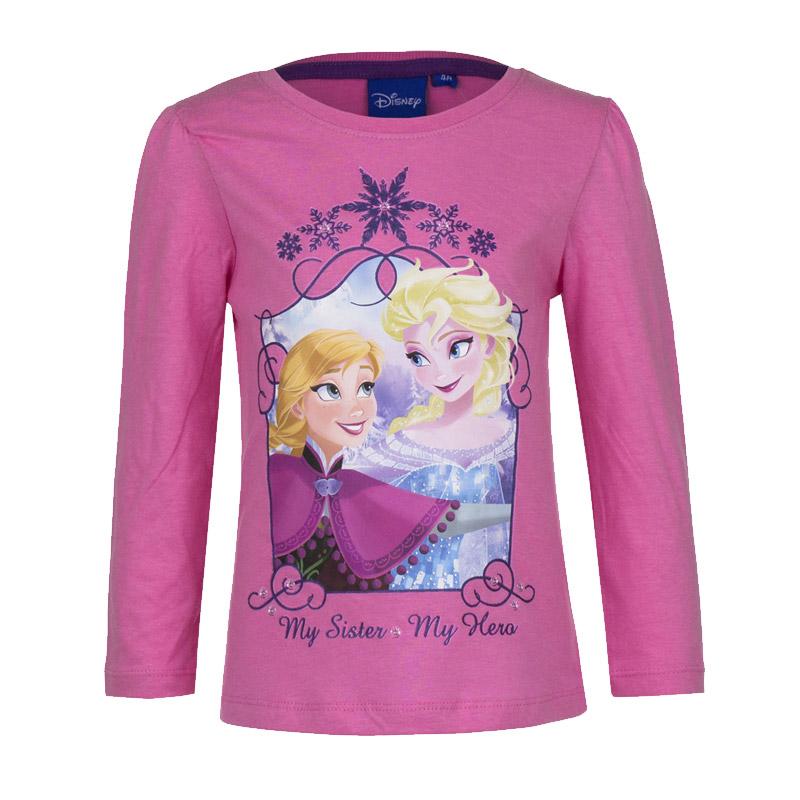 58629b7e6354 Παιδική Μακρυμάνικη Μπλούζα Χρώματος Ροζ Frozen Disney HO1382