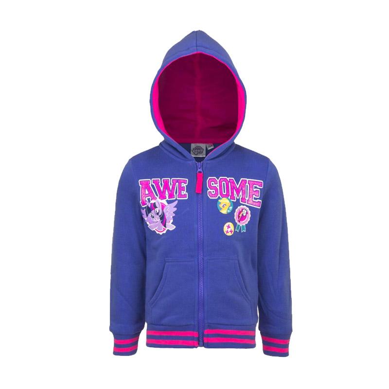 Παιδική Ζακέτα Φούτερ με Κουκούλα Χρώματος Μπλε My Little Pony Disney  AHQ1338 3ac36d27e06