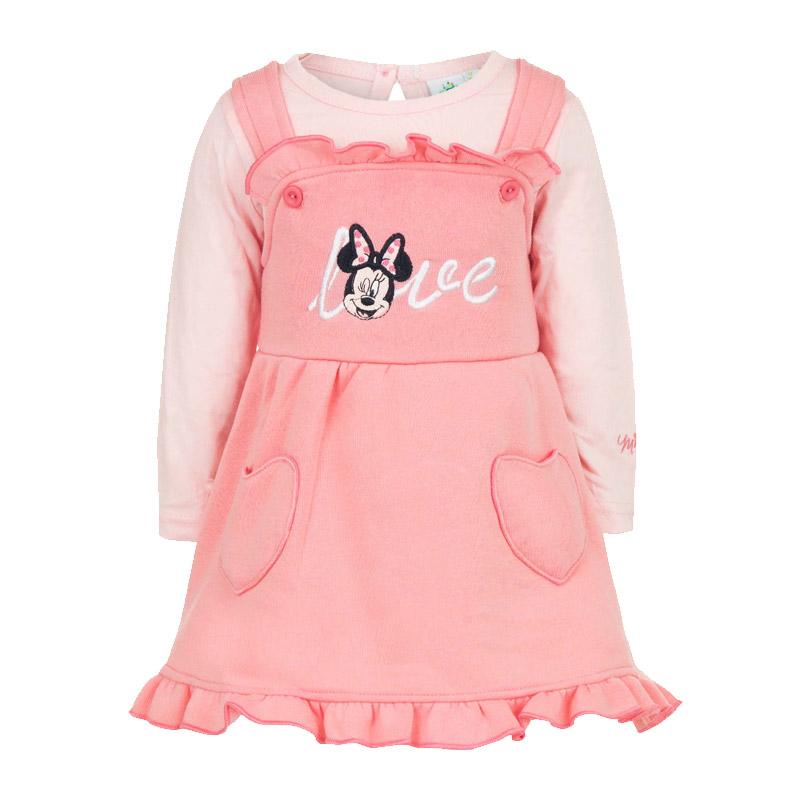 Βρεφικό Σετ 2 Τμχ Χρώματος Ροζ Minnie Disney AHQ0220 379f5371f17