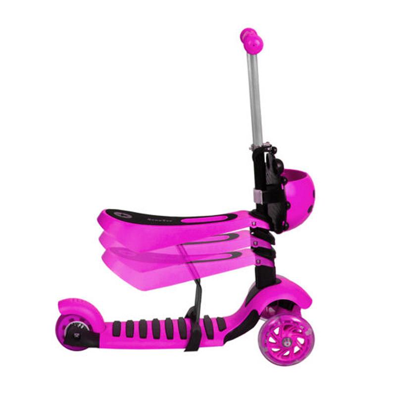cee5c83659 Αναδιπλούμενο Παιδικό Τρίτροχο Πατίνι Scooter 3 σε 1 με LED Φωτισμό SPM 3479