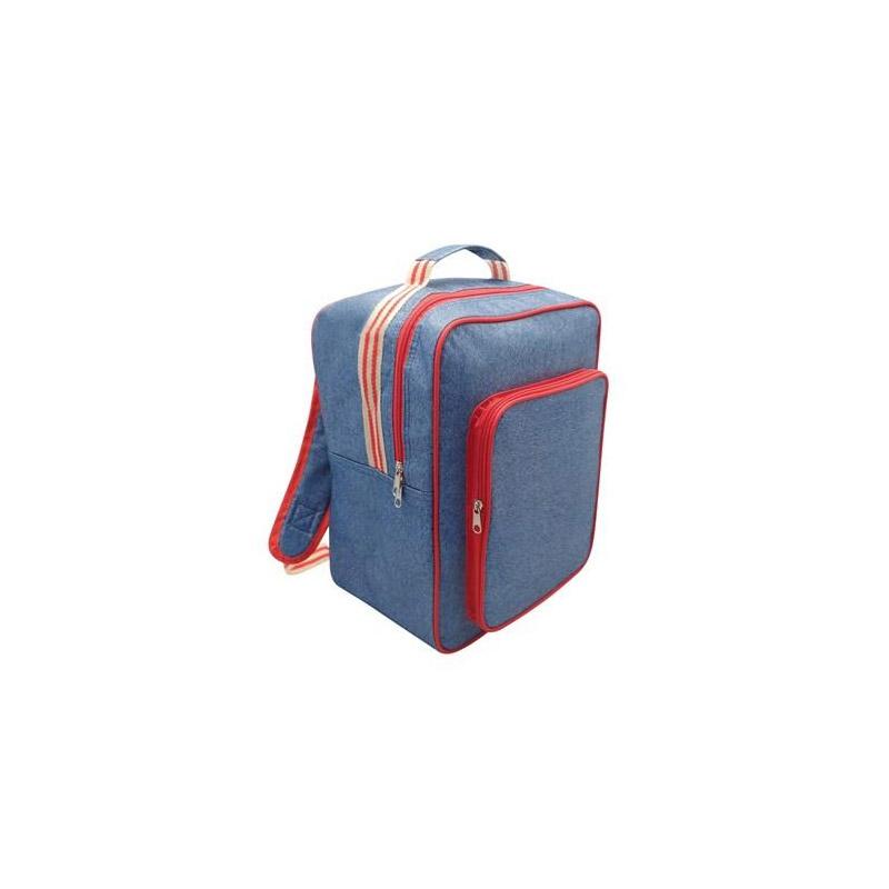 17f0053f43 Ισοθερμική Τσάντα Πλάτης - Ψυγείο Χρώματος Μπλε 27 x 18 x 35 cm SPM  CoolBag-RED DENIM