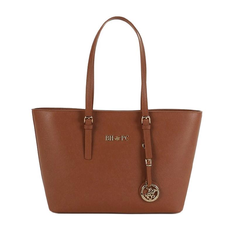 6b82960cdf Γυναικεία Τσάντα Χειρός Χρώματος Καφέ Beverly Hills Polo Club 562 650BHP0601