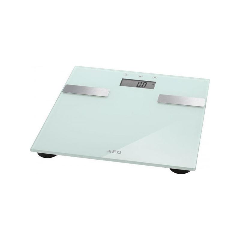 Ψηφιακή Ζυγαριά Μπάνιου Λιπομετρητής Χρώματος Λευκό AEG PW5644