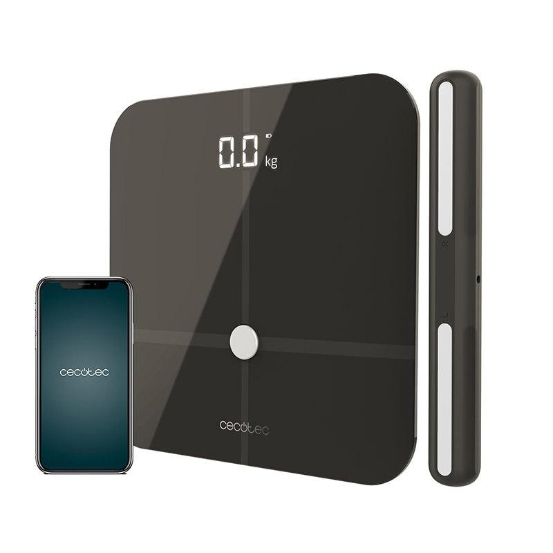 Ψηφιακή Ζυγαριά Μπάνιου - Λιπομετρητής Cecotec Surface Precision 10600 Smart Healty Pro Χρώματος Σκούρο Γκρι CEC-04265