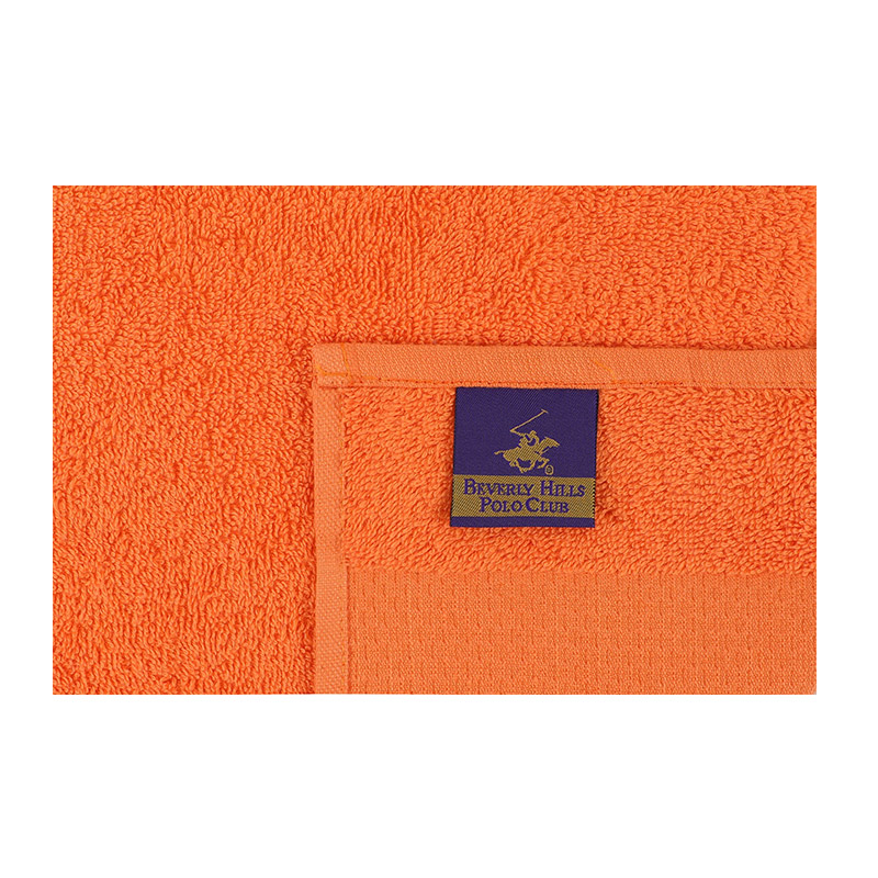 Σετ με 4 Πετσέτες Προσώπου 50 x 90 cm Χρώματος Κίτρινο Beverly Hills Polo Club 355BHP2381