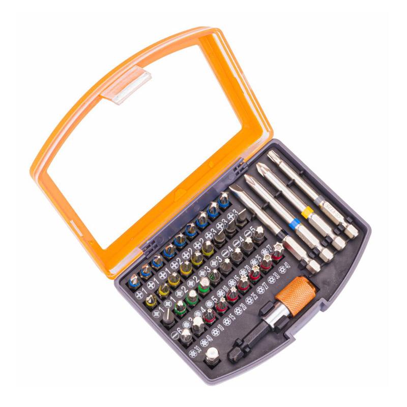 Σετ Κατσαβιδόλαμων με Χρωματική Κωδικοποίηση σε Κασετίνα 42 τμχ POWERMAT PM-ZB-42SU