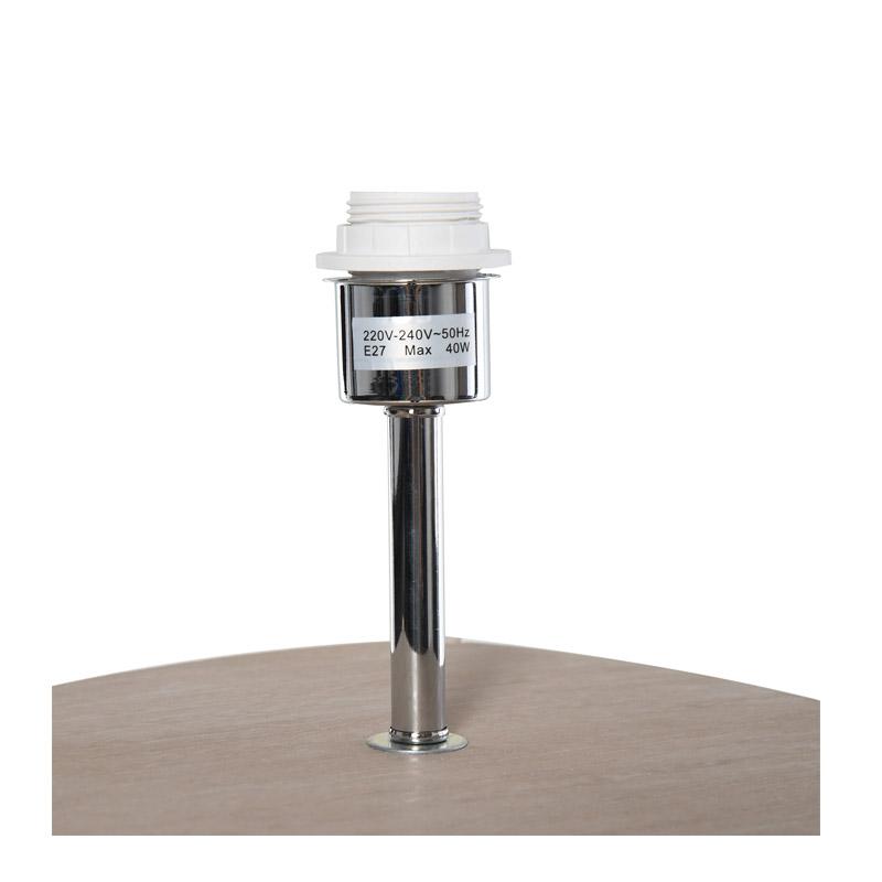 Ξύλινο Φωτιστικό Δαπέδου με 3 Ράφια 40 W HOMCOM B31-096