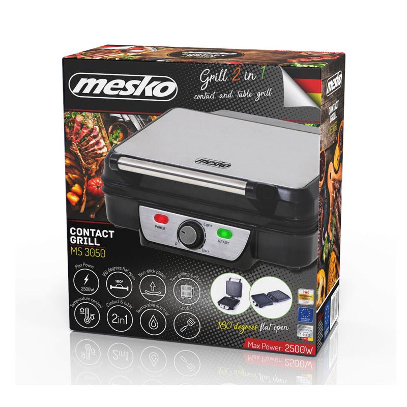 Ψηστιέρα - Γκριλιέρα 2 σε 1 2500 W Mesko MS-3050