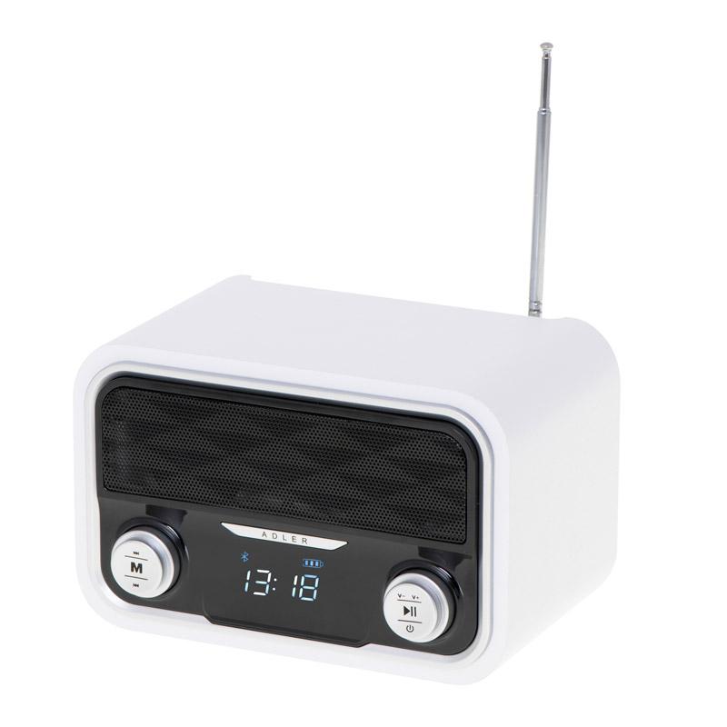 Ραδιορολόι με Bluetooth και MP3 Adler AD-1185