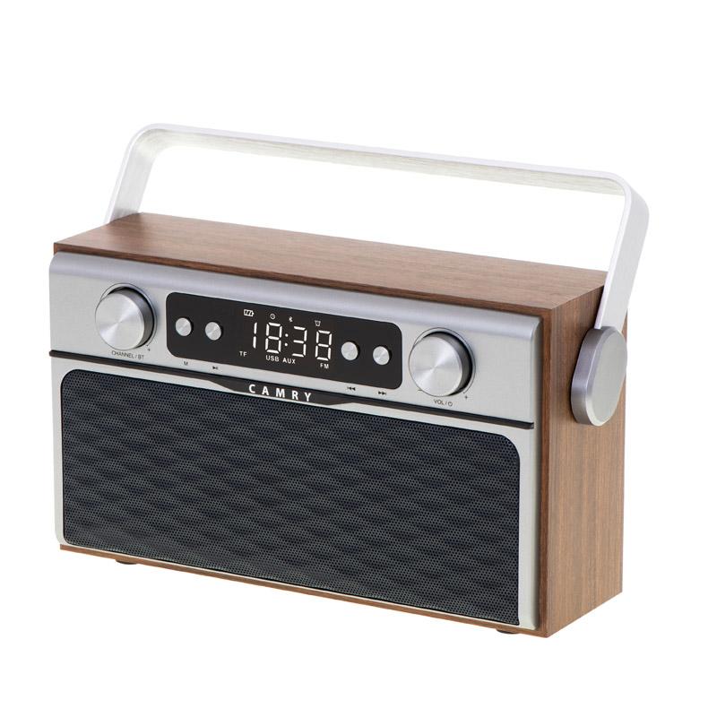 Ραδιορολόι με Bluetooth και MP3 Camry CR-1183