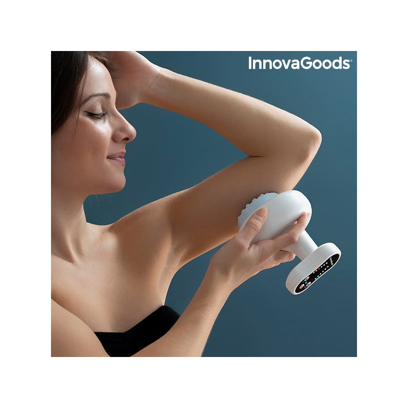 Επαναφορτιζόμενη Συσκευή Μασάζ Κατά της Κυτταρίτιδας με Αναρρόφηση και Θερμότητα InnovaGoods V0103226