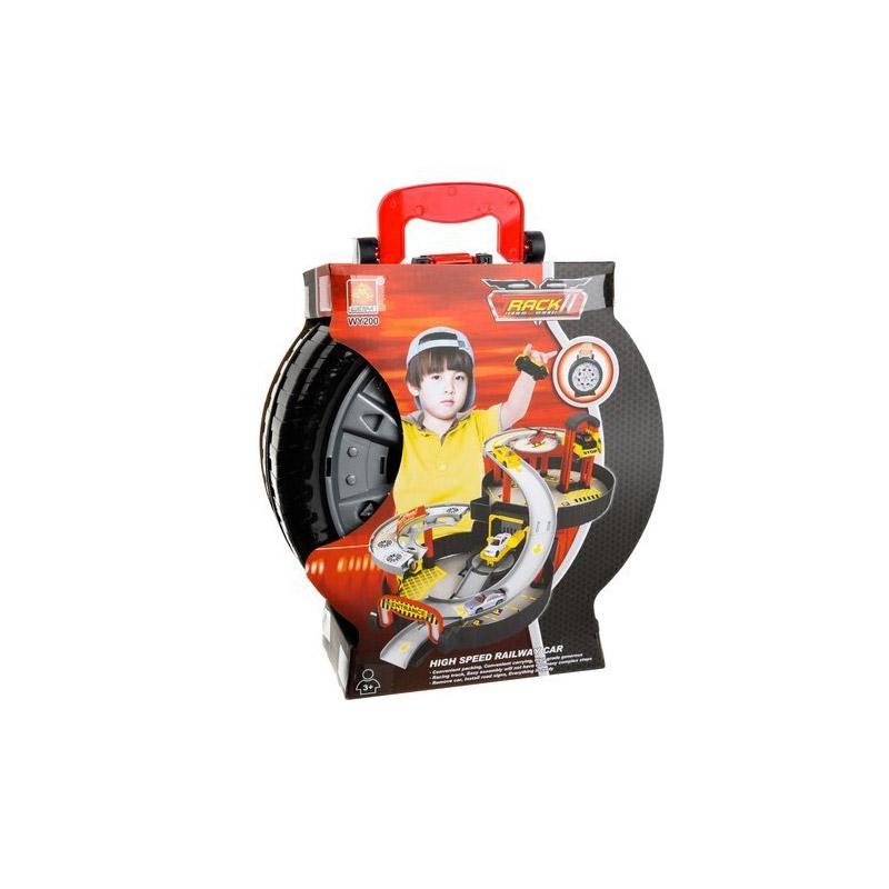 Παιδική Πίστα Αυτοκινήτων - Βαλιτσάκι με Αξεσουάρ SPM 11604