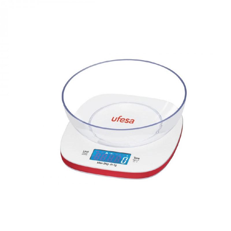 Ψηφιακή Ζυγαριά Κουζίνας με Μπολ 5 Kg UFESA BC1450