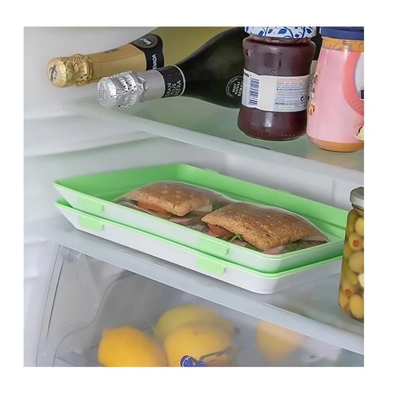 Σετ Δίσκοι Αποθήκευσης και Συντήρησης Τροφίμων με Καπάκια 3 τμχ GEM BN5217