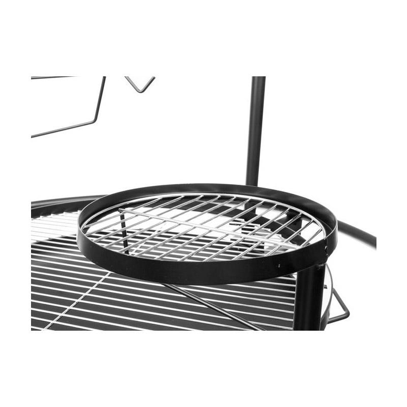 Τζάκι Εξωτερικού Χώρου και Ψησταριά - Μπάρμπεκιου με Κάρβουνο 5 σε 1 98  x 102 cm Kaminer 11827