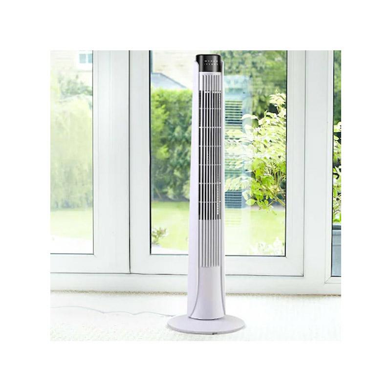 Ανεμιστήρας Πύργος με Τηλεχειριστήριο Χρώματος Λευκό 50 W Hoppline HOP1001098-2