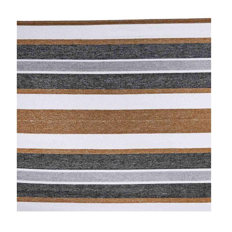 Υφασμάτινη Διπλή Αιώρα 200 x 150 cm Χρώματος Καφέ Hoppline HOP1000120-5