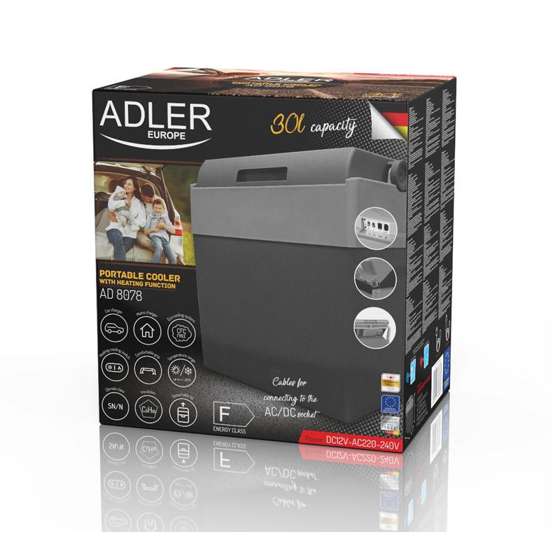 Ηλεκτρικό Φορητό Ψυγείο Θερμαντήρας 30 Lt Adler AD-8078