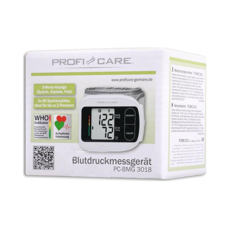 Ηλεκτρονικό Πιεσόμετρο Καρπού ProfiCare PC-BMG3018