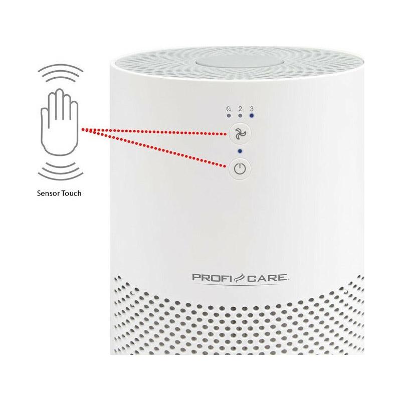 Ιονιστής - Καθαριστής Αέρα με Φίλτρο HEPA ProfiCare PCLR3075