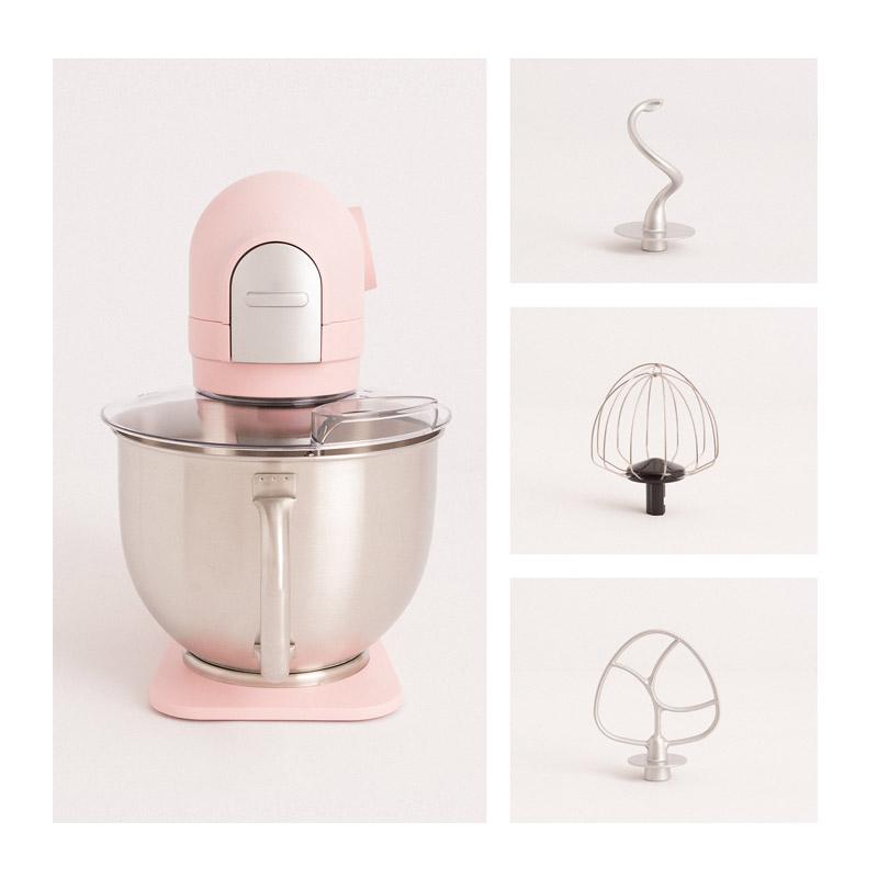Κουζινομηχανή 1200 W Χρώματος Ροζ DOWNMIX Retro CREATE IKOHS 8435572607067