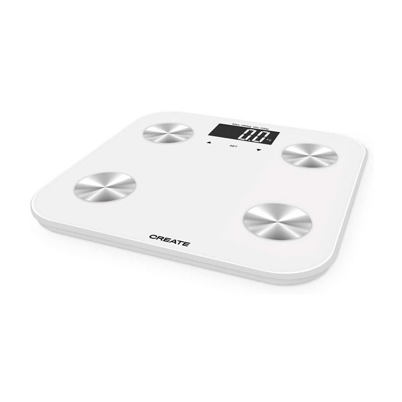 Ψηφιακή Ζυγαριά Μπάνιου - Λιπομετρητής Χρώματος Λευκό SMART BODY BIO CREATE IKOHS 8435572607715