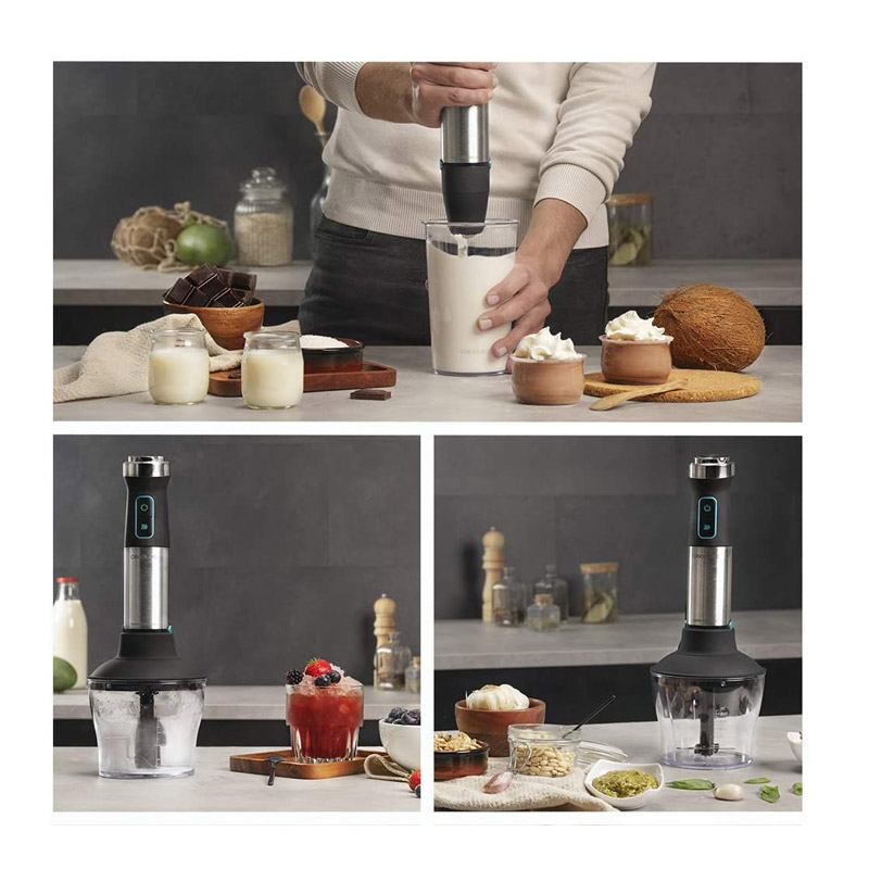 Ραβδομπλέντερ Χειρός Power TitanBlack 1500 XL Cream & Crush Cecotec CEC-04272
