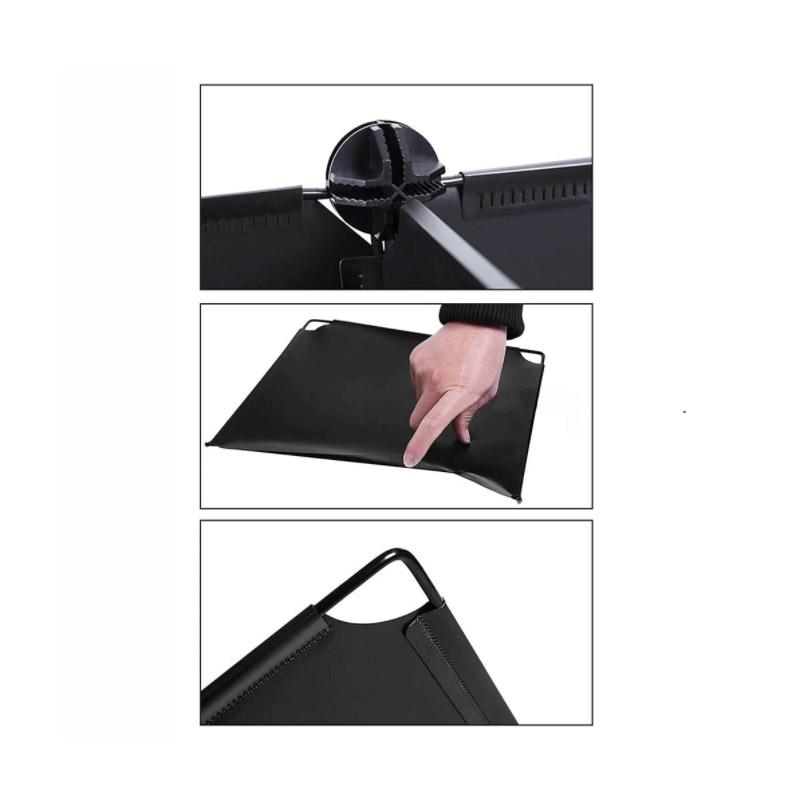 Σύστημα Αποθήκευσης - Πλαστική Ντουλάπα Χρώματος Μαύρο Hoppline HOP1000976-2