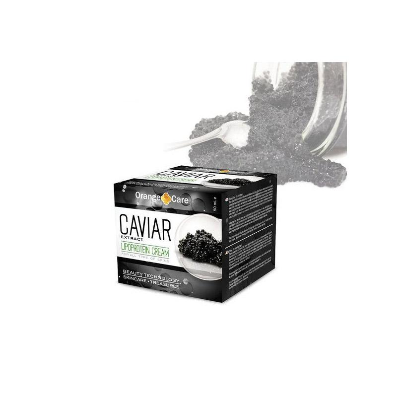 Αντιγηραντική Κρέμα Προσώπου με Χαβιάρι 50 ml Orange Care CAV001