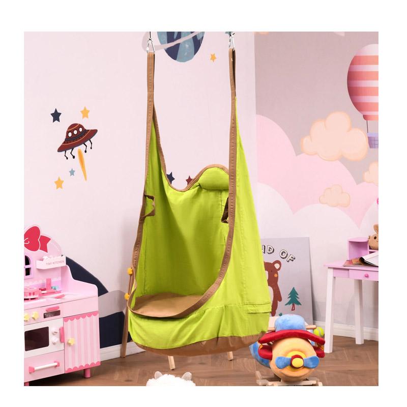 Παιδική Κρεμαστή Κούνια - Φωλιά με Μαξιλάρι 75 x 55 x 140 cm Outsunny 344-032