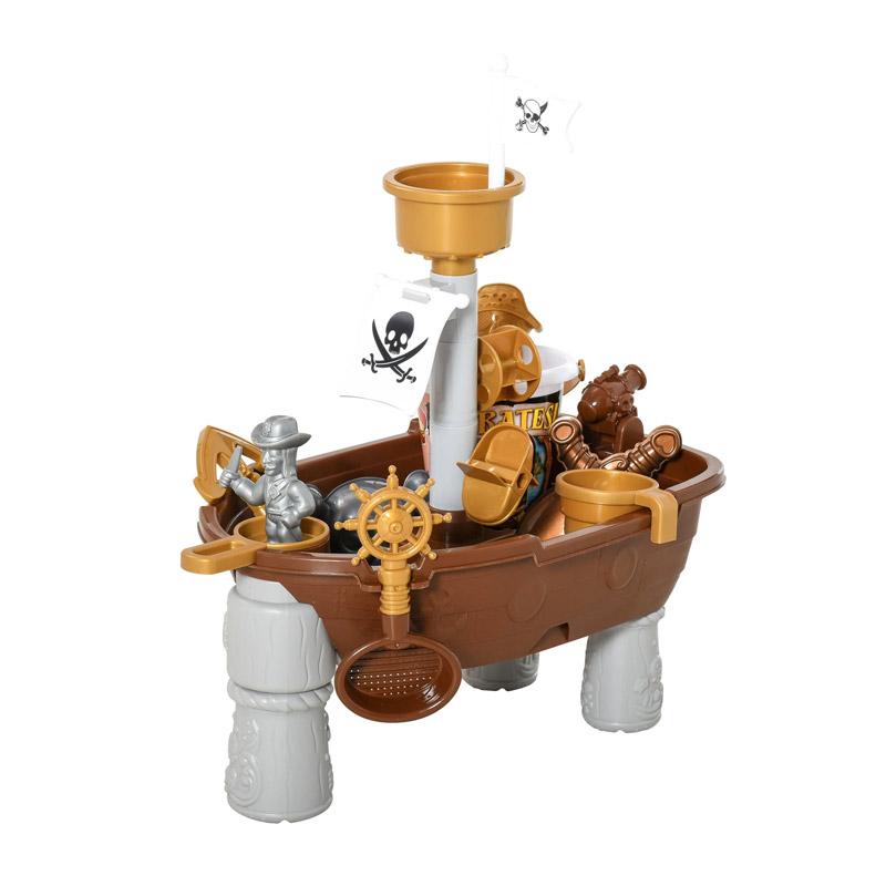 Σετ Παιδικό Πειρατικό Καράβι με Αξεσουάρ 26 τμχ HOMCOM 343-038