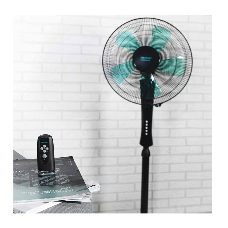 Ανεμιστήρας Cecotec Energy Silence 530 Power Connected Χρώματος Μαύρο CEC-05905