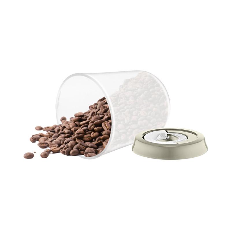 Σετ Πλαστικά Αεροστεγή Δοχεία Τροφίμων 3 τμχ Χρώματος Γκρι Herzberg HG-CK785-Grey