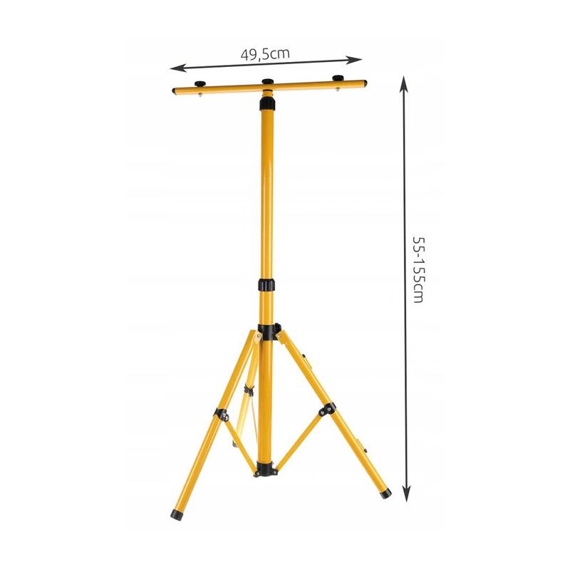 Πτυσσόμενη Τρίποδη Βάση για 2 Προβολείς LED 160 cm SPM 15094
