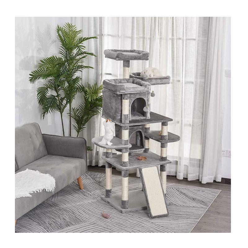 """Δέντρο Γάτας - Ονυχοδρόμιο 23.5"""" x 19.75"""" x 66.25"""" PawHut D30-284"""