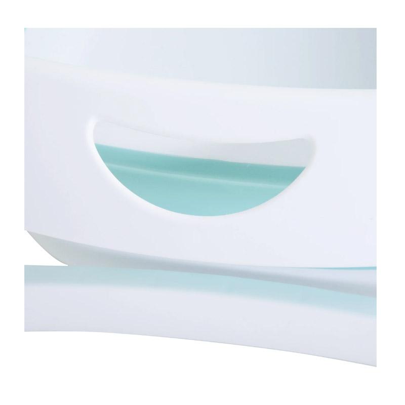 Πτυσσόμενη Μπανιέρα Μωρού 80 x 48 x 21 cm Χρώματος Γαλάζιο HOMCOM 400-010GN