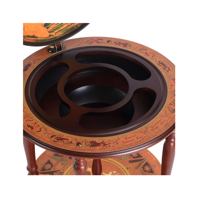 Ξύλινο Μπαρ Υδρόγειος -  Κάβα για Κρασιά HOMCOM 801-072