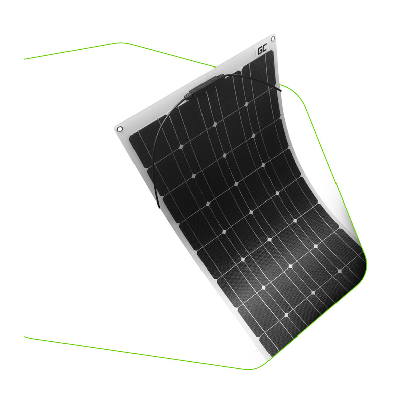 Εύκαμπτο Μονοκρυσταλλικό Φωτοβολταϊκό Πάνελ 100 W 18 V Green Cell PPV02